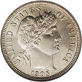 Barber Dimes: , 1905-O 10C Micro O MS63 NGC. A couple of error and die varietyissues in the Barber dime series have captivated the attenti...