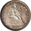 "Seated Half Dimes: , 1860 H10C Transitional MS65 NGC. Judd-267, R.4. These curious coinswere struck ""as a numismatic delicacy"" as stated in the..."