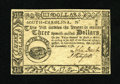 Colonial Notes:South Carolina, South Carolina December 23, 1776 $3 Gem New. This is as nice aquality note as you will ever find from this colony, even for...