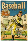 "Golden Age (1938-1955):Miscellaneous, Baseball Comics #1 Davis Crippen (""D"" Copy) pedigree (Will Eisner, 1949) Condition: VF...."