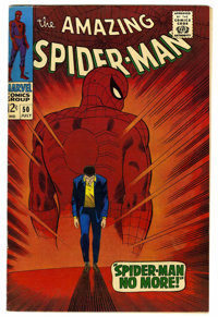 The Amazing Spider-Man #50 (Marvel, 1967) Condition: FN/VF