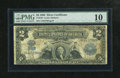 Fr. 249 $2 1899 Silver Certificate PMG Very Good 10. This design has done nothing but steadily increase in value even at...