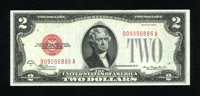 Fr. 1504 $2 1928C Legal Tender Note. Gem Crisp Uncirculated. Superb embossing and fiery red ink colors are seen on this...