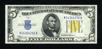 Fr. 2307 $5 1934A North Africa Silver Certificate. Superb Gem Crisp Uncirculated. An incredibly margined picture perfect...
