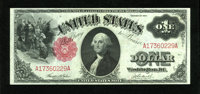 Fr. 36 $1 1917 Legal Tender Choice About New. A superb and totally original note that has good embossing and incredible...