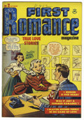 "Golden Age (1938-1955):Romance, First Romance #2 and 7 Davis Crippen (""D"" Copy) pedigree Group(Harvey, 1949-50).... (Total: 2)"