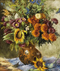Fine Art - Painting, American:Modern  (1900 1949)  , MARIA ELSA BLANKE (American 1879-1961). Still Life. Oil onpanel. 25-1/2 x 21-1/2 inches (64.8 x 54.6 cm). Signed lower...