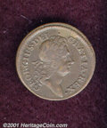 1723 1CL Rosa Americana Penny XF 40 Corroded. Breen-121. 8.34 grams. A lovely medium brown example of this intriguing Co...