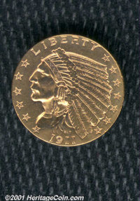 1911-D $2 1/2 AU 50 Polished. The key issue in the series. There is polishing, and then there is polishing. This is not...