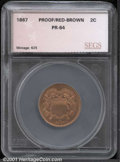 Additional Certified Coins: , 1867 2C, RB