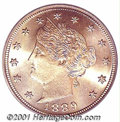 Additional Certified Coins: , 1889 5C