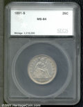 Additional Certified Coins: , 1891-S 25C