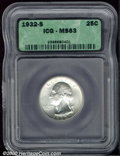 Additional Certified Coins: , 1932-S 25C