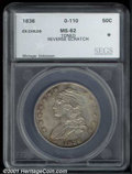 Additional Certified Coins: , 1836 50C LT EDGE