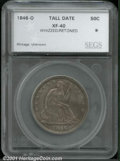 Additional Certified Coins: , 1846-O 50C TALL DATE
