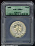 Additional Certified Coins: , 1944 50C