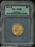 Additional Certified Coins: , 1911-S $5