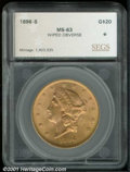 Additional Certified Coins: , 1896-S $20