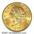 Additional Certified Coins: , 1903 $20