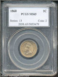Indian Cents: , 1860 1C