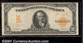 Large Size Gold Certificates:Large Size, 1907 $10 Gold Certificate, Fr-1171, VF+. A crisp example with b...