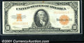 Large Size Gold Certificates:Large Size, 1922 $10 Gold Certificate, Fr-1173, VF-XF. This crisp note is b...