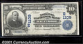 National Bank Notes:Maryland, National Exchange Bank of Baltimore, MD, Charter #1109. 1902 $1...