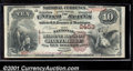 National Bank Notes:Maryland, National Marine Bank of Baltimore, MD, Charter #2453. 1882 $10 ...