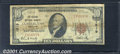 National Bank Notes:Maryland, Second National Bank of Cumberland, MD, Charter #1519. 1929 $10...