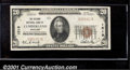 National Bank Notes:Maryland, Second National Bank of Cumberland, MD, Charter #1519. 1929 $20...