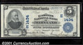 National Bank Notes:Maryland, Easton National Bank of Maryland, Easton, MD, Charter #1434. 19...