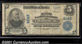 National Bank Notes:Maryland, First National Bank of Frostburg, MD, Charter #4149. 1902 $5 Th...