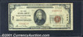 National Bank Notes:Maryland, First National Bank of Westminster, MD, Charter #742. 1929 $20 ...