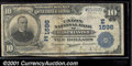 National Bank Notes:Maryland, Union National Bank of Westminster, MD, Charter #1596. 1902 $10...