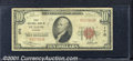National Bank Notes:Missouri, First National Bank in Saint Louis, MO, Charter #170. 1929 $10 ...