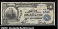 National Bank Notes:Montana, First National Bank of Kalispell, MT, Charter #4586. 1902 $10 T...