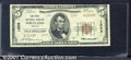 National Bank Notes:Oregon, First National Bank of Portland, OR, Charter #1553. 1929 $5 Typ...