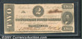 Confederate Notes:1862 Issues, 1862 $2 Judah P. Benjamin, T-54, VF. This note is from a small ...