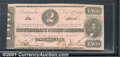 Confederate Notes:1862 Issues, 1862 $2 Judah P. Benjamin, T-54, AU. This note is from a small ...