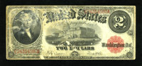 Fr. 60 $2 1917 Legal Tender About Good. This note fell out of the ugly tree and hit every branch on the way down. This p...