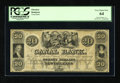 Obsoletes By State:Louisiana, New Orleans, LA- Canal Bank $20 18__. This remainder is bright and well margined. There is some toning of the paper to note....