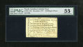 Colonial Notes:North Carolina, North Carolina December, 1771 2s/6d PMG About Uncirculated 55. This attractive and lightly circulated issue is printed on wa...