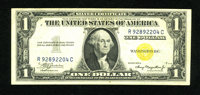 Fr. 2306 $1 1935A North Africa Silver Certificate. Very Fine-Extremely Fine. This is pleasing, bright example from the R...
