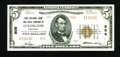 National Bank Notes:Kentucky, Lexington, KY - $5 1929 Ty. 2 First NB & TC Ch. # 906. A hintof handling is noted on this deeply embossed issue. Cris...