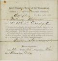 Military & Patriotic:Civil War, Parole of William Bowman of the 12th Virginia Cavalry. Confederate soldier William Bowman received his parole on May 4, 1865...