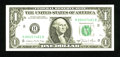 Error Notes:Miscellaneous Errors, Fr. 1912-H $1 1981A Federal Reserve Note. Gem Crisp Uncirculated.. This example is a famed Backplate 129 error where the eng...