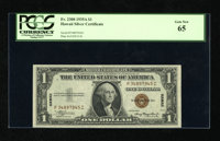 Fr. 2300 $1 1935A Hawaii Silver Certificate. PCGS Gem New 65. An attractive Gem Hawaii Ace with a bright overprint and n...