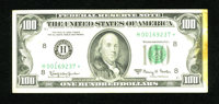 Fr. 2163-H* $100 1963A Federal Reserve Note. Very Fine-Extremely Fine. There is slight stain at right on this pleasing r...