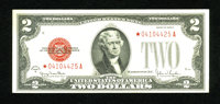 Fr. 1508* $2 1928G Legal Tender Star Note. Extremely Fine-About Uncirculated. Great embossing remains on this quartered...