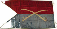 General George Armstrong Custer's Personal Battle Flag From Lee's Surrender at Appomattox to the Little Bighorn
